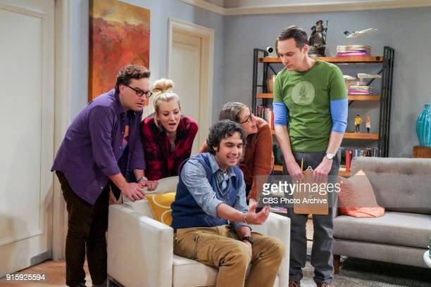 'The Neonatal Nomenclature' Pictured Leonard Hofstadter Penny Rajesh Koothrappali Amy Farrah Fowler and Sheldon Cooper When Bernadette won't go into...