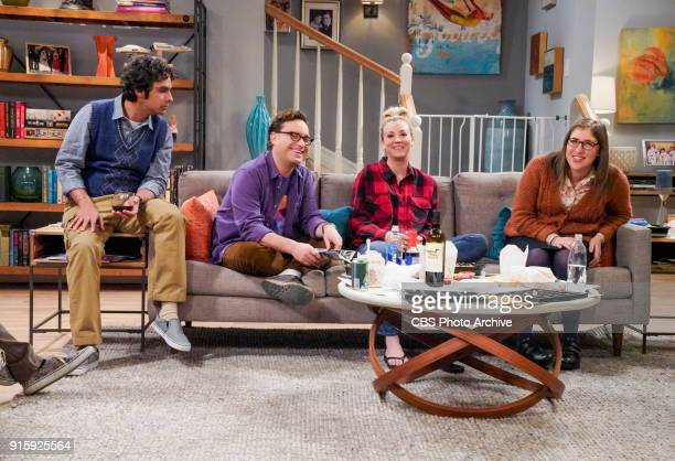'The Neonatal Nomenclature' Pictured Rajesh Koothrappali Leonard Hofstadter Penny and Amy Farrah Fowler When Bernadette won't go into labor all her...