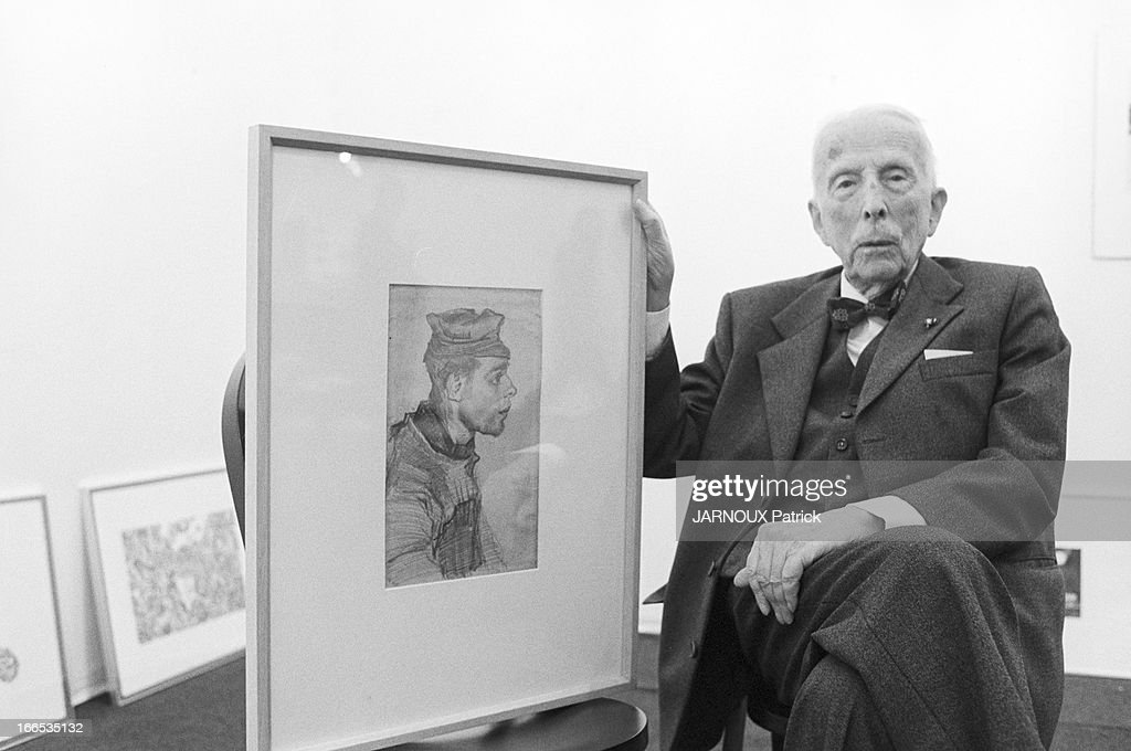 The Nephew Of Vincent Van Gogh : News Photo