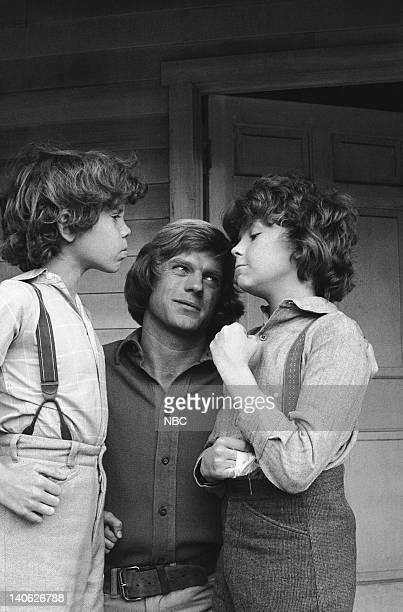 PRAIRIE The Nephews Episode 14 Aired 1/19/81 Pictured Ham Larson as Myron Wilder Dean Butler as Almanzo James Wilder Rossie Harris as Rupert Wilder...