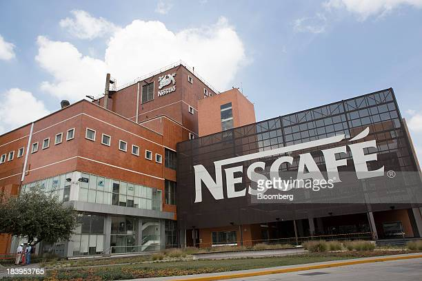 The Nestle SA chocolate production plant stands in Toluca Mexico on Wednesday Oct 2013 Nestle SA the worlds biggest food company manufactures and...