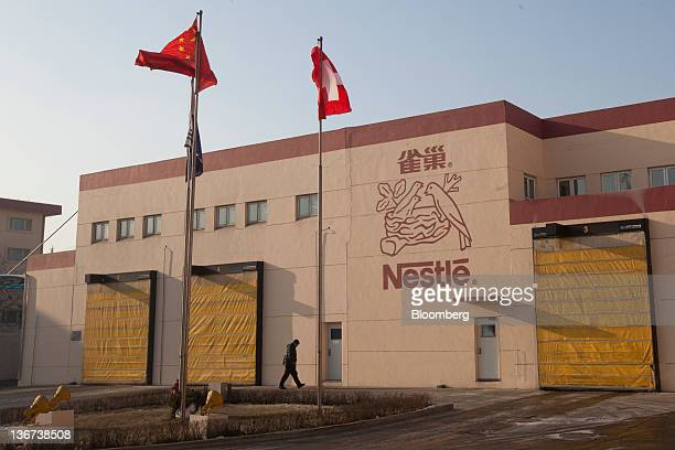 The Nestle SA plant stands in Shuangcheng Heilongjiang Province China on Wednesday Jan 11 2012 Nestle will spend 25 billion yuan with a local Chinese...