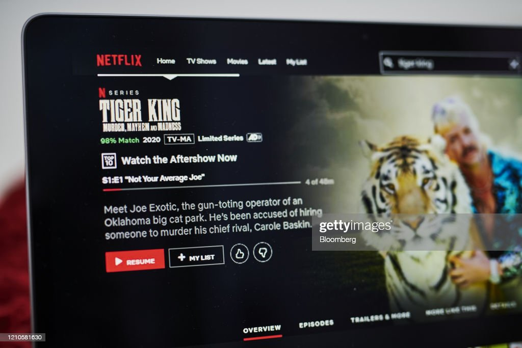 Entertainment Streaming Apps Amid Pandemic Stay-At-Home Orders : News Photo