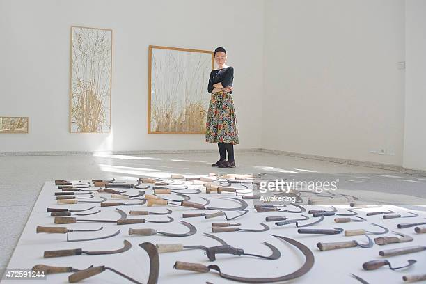 The Netherland pavillion at the Giardini during the 56 Venice Biennale Art on May 8 2015 in Venice Italy
