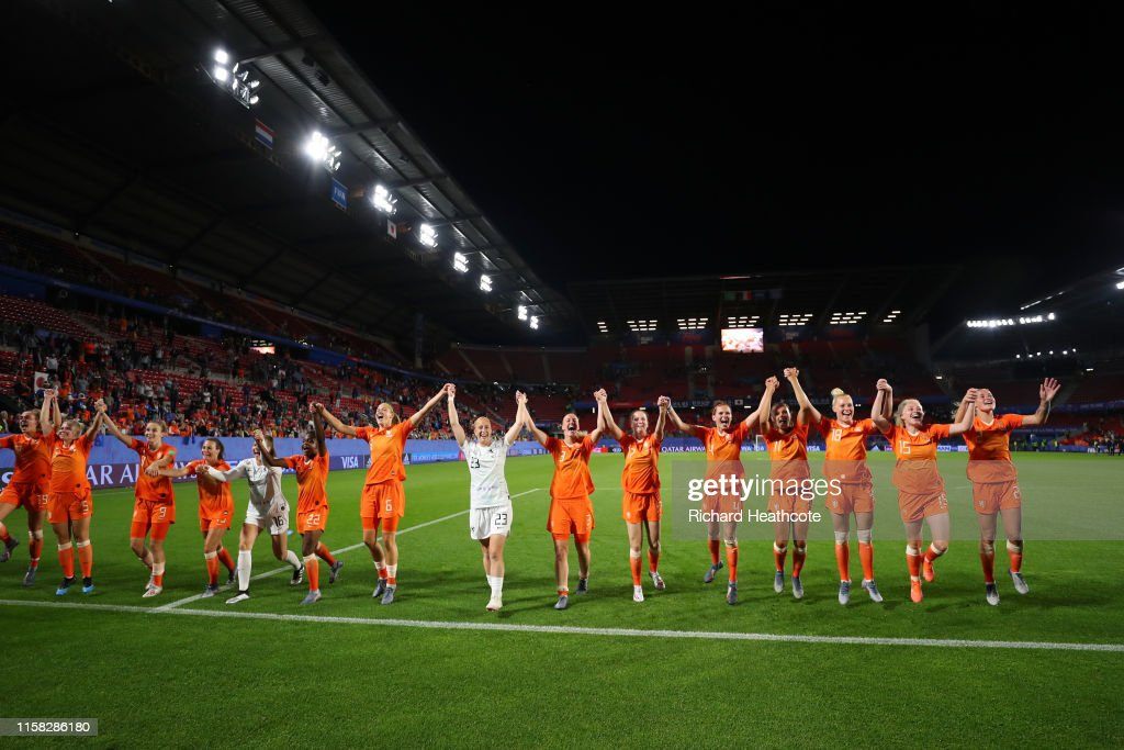 Netherlands v Japan: Round Of 16  - 2019 FIFA Women's World Cup France : News Photo