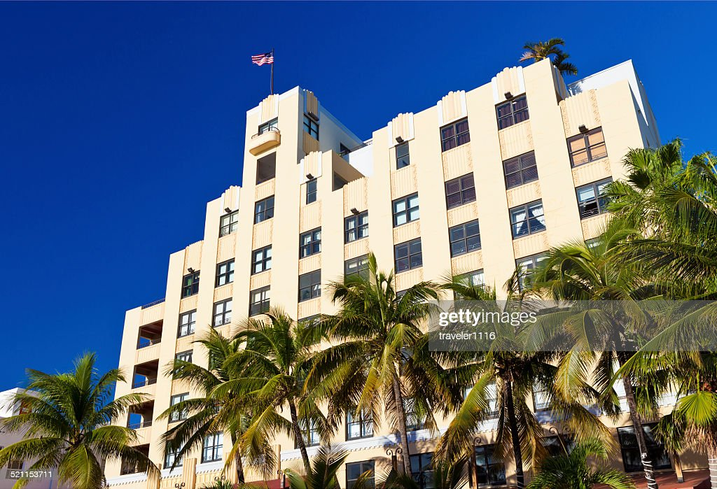 The Netherland R5f In South Beach Miami Stock Photo