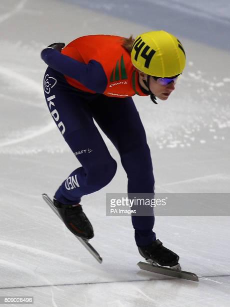 The Netherlands' Annita Van Doorn during the Women's 1500m quarterfinals
