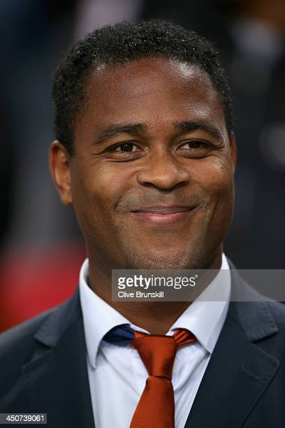 The Netherlands assistant team coach Patrick Kluivert prior to the friendly International match between the Netherlands and Colombia at the Amsterdam...