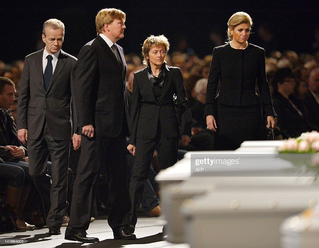 (From 2ndL) The Netherlands' Dutch Crown : News Photo