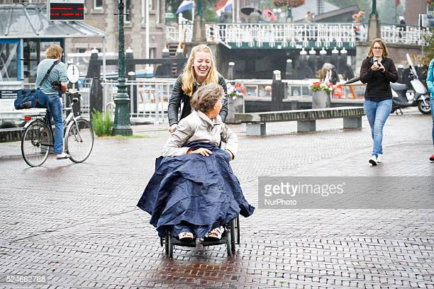 LEIDEN The Netherlands on 15 July 2015 The entire country is forecast to have near constant light precipitation until at least Friday after which...