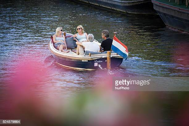 The Netherlands, on August 6, 2015. Summer is Back. Temperatures are increasing again after a short, cold spell. Temperatures will be reaching 27...