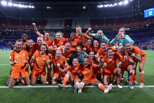 FRA: Netherlands v Sweden: Semi Final - 2019 FIFA Women's World Cup France
