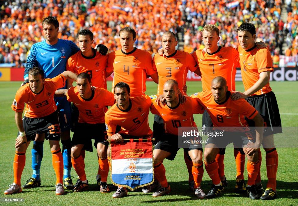 Netherlands v Denmark: Group E - 2010 FIFA World Cup