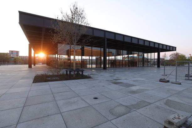 DEU: Neue Nationalgalerie Renovation Complete