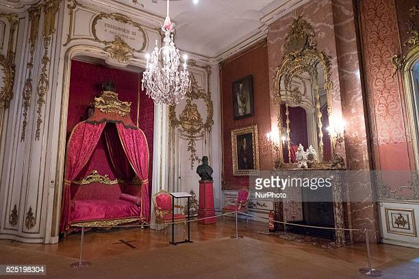 The Neues Palais in Potsdam Germany 30 August 2015 Prussian King Friedrich II had the New Palace built in 1766 after the 7year war It is situadoI in...