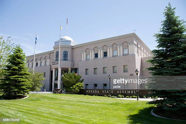 The Nevada state assembly building