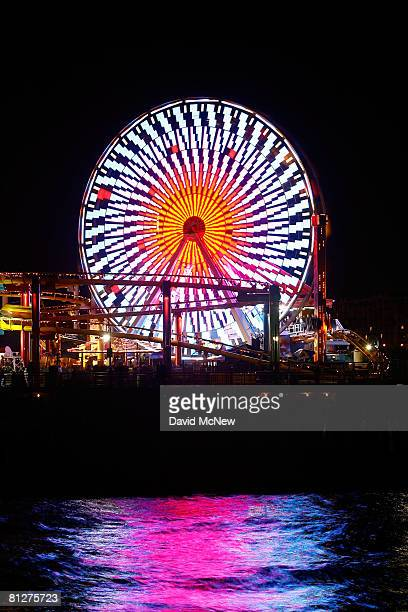 The new $1.5 million solar powered Ferris wheel, which replaces the Pacific Wheel Ferris wheel auctioned off on eBay for $132,400 in April, stands...