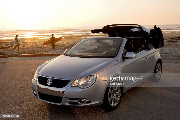 The new 2007 Eos by Volkswagen photographed in San Diego California The car is powered by either a 200hp 20T FSI or a 250hp 32l VR6 FSI for the US...