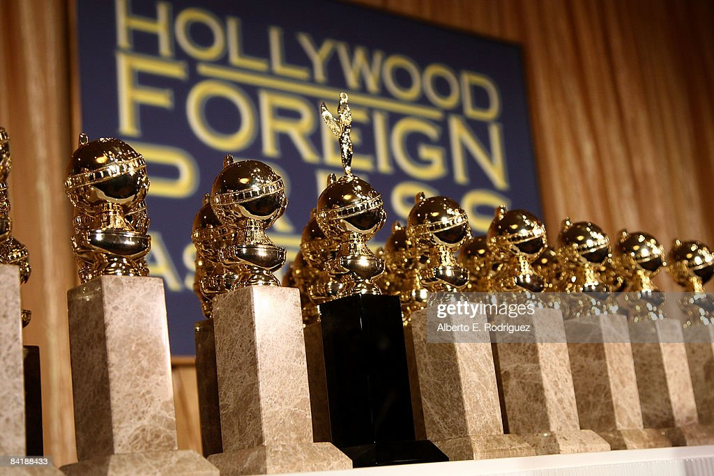 Unveiling Of The New 2009 Golden Globe Statuettes : News Photo