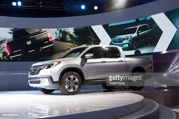 The new 2016 Honda Ridgeline truck during the North American International Auto Show in Detroit, Michigan. Toronto Star/Todd Korol Toronto Star/Todd...
