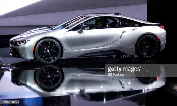 The new 2019 BMW i8 Coupe makes its world debut at the 2018 North American International Auto Show January 15 2018 in Detroit Michigan More than 5100...