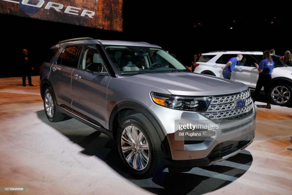 The New 2020 Ford Explorer Suv Is Revealed At Ford Field On January