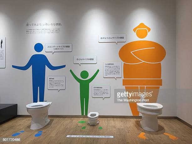 The New 60 Million Toto Toilet Museum In KitaKyushu Japan Seen On December 3 Displays Toilets