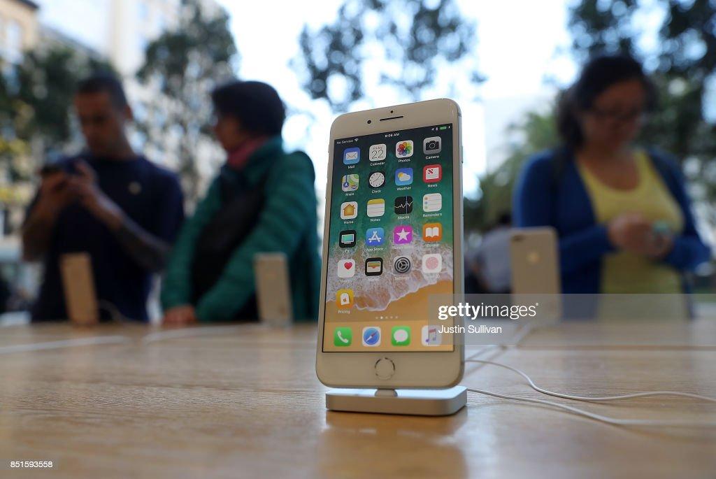 Apple iPhone 8 Goes On Sale : News Photo
