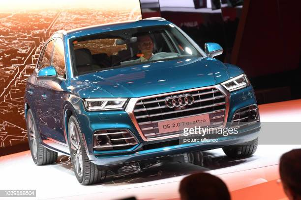 The new Audi Audi Q5 presented during the first press day at the Paris Motor Show in Paris, France, 29 September 2016. The bi-annual automotive fair...