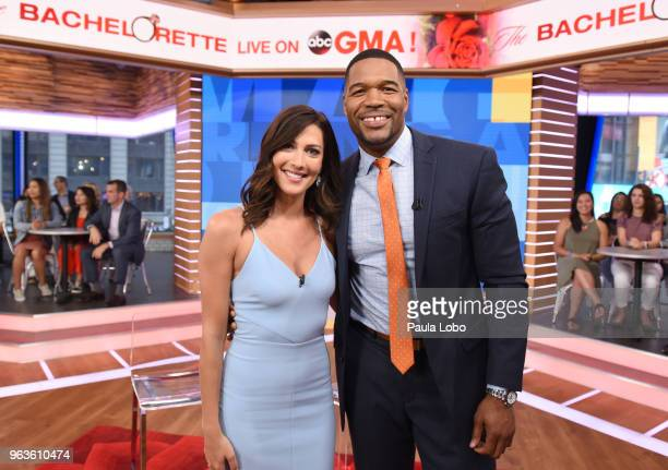 AMERICA The new Bachelorette Becca Kufrin is a guest on Good Morning America on Tuesday April 29 2018 airing on the Walt Disney Television via Getty...
