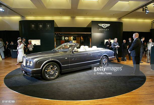 Bentley Arnage Drophead Coupe Stock Photos And Pictures Getty Images
