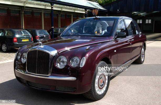 The New Bentley State Limousine Car Presented To The Queen As A Golden Jubilee Gift On Behalf Of A Consortium Of Britishbased Automotive...