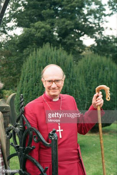 The new Bishop of Durham Rev Michael Turnbull at Croft near Darlington 28th September 1994