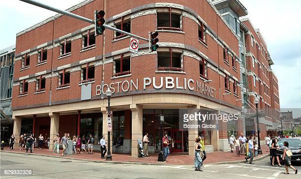 The new Boston Public Market officially opens on Jul 30 2015 in Boston