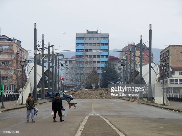 CONTENT] The new bridge over the Ibar river seen from the populated with Albanians southern Mitrovica side The Mitrovica Bridge serves as the main...