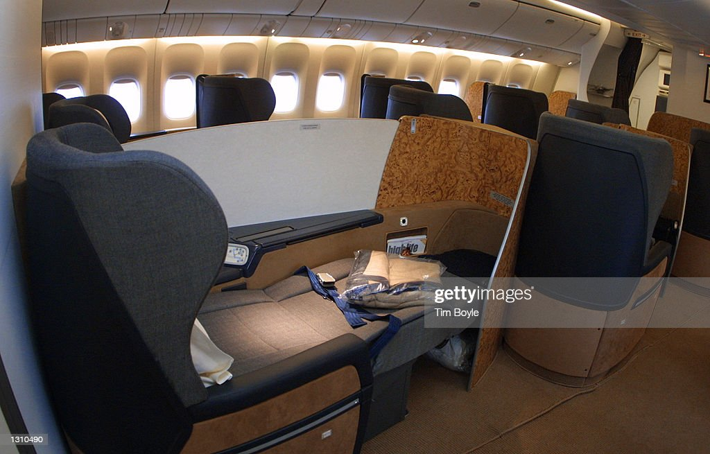 The new British Airways first class seat that opens to a ...British Airways First Class 777 Bed