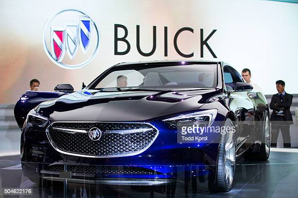 The new Buick Avista concept car on display at the North American International Auto Show in Detroit Michigan Toronto Star/Todd Korol Toronto...