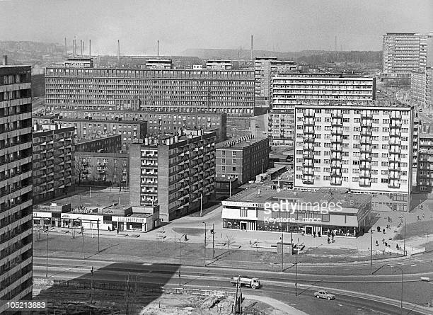 The New Buildings Of Katowice Capital Of High Silesia Region Of Poland In May 1968 Despite The Lead Weight The Ussr Held Over Poland The Area Was...