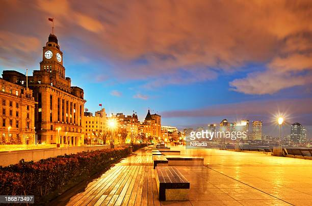 The New Bund in Shanghai, China