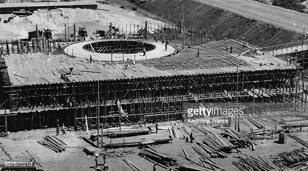 The new capital Brasilia in Brazil circa 1960