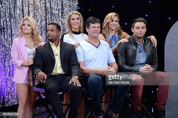 AMERICA The new cast of Dancing With The Stars was announced on GOOD MORNING AMERICA 9/4/14 and include celebrities Jonathan Bennett Tommy Chong...