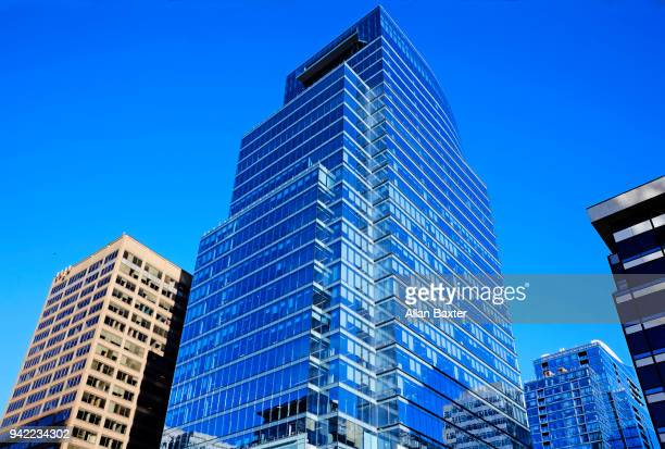 the new 'central place development' in rosslyn, arlington - arlington virginia stock pictures, royalty-free photos & images