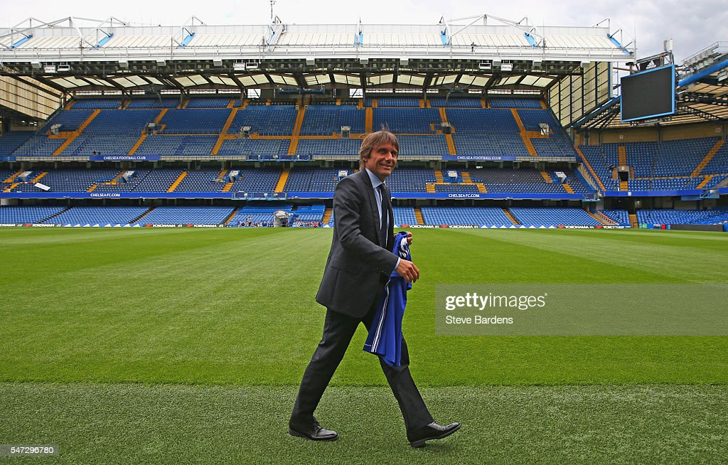 Chelsea unveil Antonio Conte as new Manager : News Photo