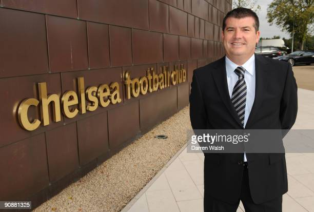 The new Chief Executive of Chelsea FC, Ron Gourlay, poses at the Cobham training ground on September 17, 2009 in Cobham, England.