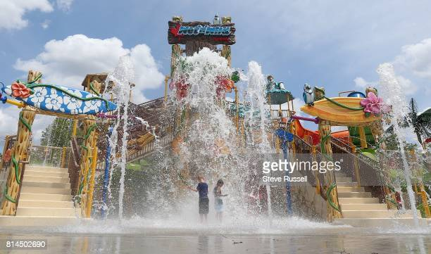 BRAMPTON ON JUNE 28 The new children's area features a huge tipping bucket Wet 'n' Wild Toronto reopens a revamped waterpark on the site that used to...
