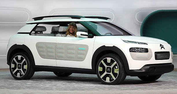 The New Citroen Cactus Concept Car Is Presented During The Media Day
