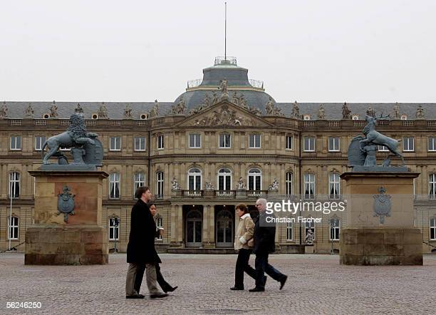 The new city castle is seen on November 19 2005 in Stuttgart Germany Stuttgart is one of the host cities that will be used to stage the FIFA World...