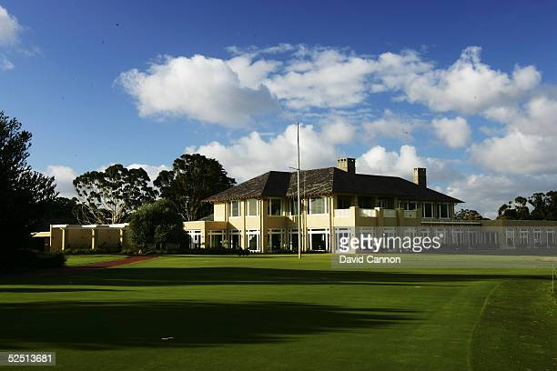 The new clubhouse at Royal Melbourne Golf Club on January 03 in Black Rock Melbourne Victoria Australia