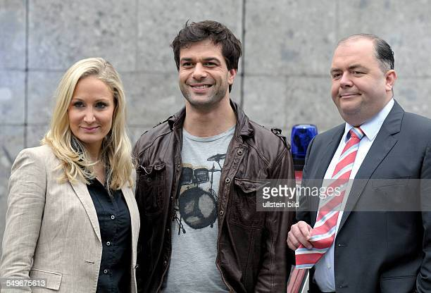 The new criminal story HELDT , which will be aired on ZDF : Janine KUNZE , Kai SCHUMANN and Timo DIERKES