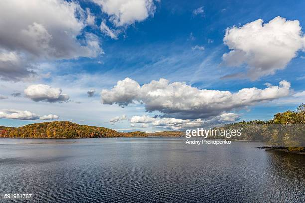 the new croton dam - westchester county stock pictures, royalty-free photos & images